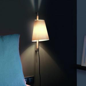 Faro - Indoor - Hotelerie - Lampade e applique con paralume - Hanoi AP - Applique moderna