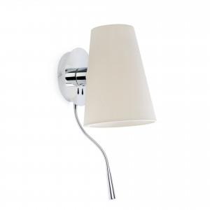 Faro - Indoor - Hotelerie - Lupe AP R - Lampada a parete con luce di lettura