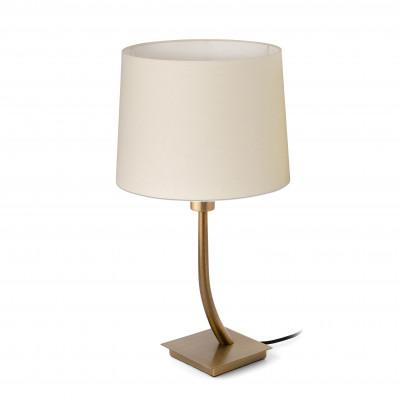 Faro - Indoor - Hotelerie - Rem TL - Lampada da tavolo moderna con paralume - Beige - LS-FR-29685-2P0122