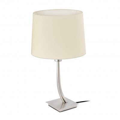 Faro - Indoor - Hotelerie - Rem TL - Lampada da tavolo moderna con paralume - Bianco - LS-FR-29684-2P0121