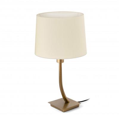 Faro - Indoor - Hotelerie - Rem TL - Lampada da tavolo moderna con paralume - Bianco - LS-FR-29685-2P0121