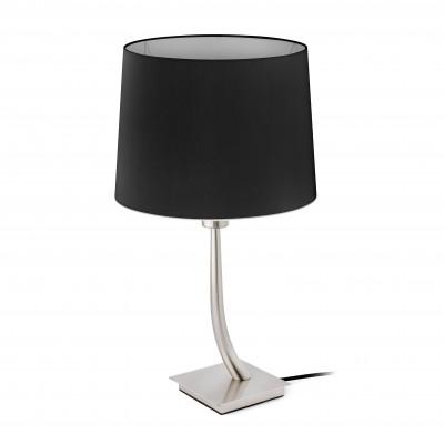 Faro - Indoor - Hotelerie - Rem TL - Lampada da tavolo moderna con paralume - Nero - LS-FR-29684-2P0123