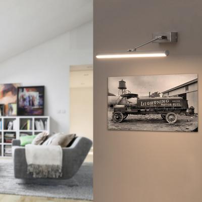 Faro indoor magritte ap m lampada a parete led per quadri for Quadri a parete