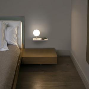 Faro - Indoor - Nit - Niko AP DX LED - Lampada da parete di design
