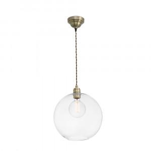 Faro - Indoor - Rustic - Erma SP - Lampadario in vetro trasparente