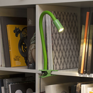 Faro - Indoor - Studio - Nuka TL LED clip - Lampada da tavolo o scaffale a LED con clip