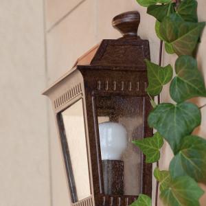 Faro - Outdoor - Estoril - Argot AP - Lampada a parete per esterni rustica