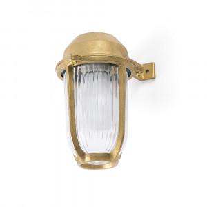 Faro - Outdoor - Ottone - Borda AP - Lampada a parete in ottone da giardino e porticato