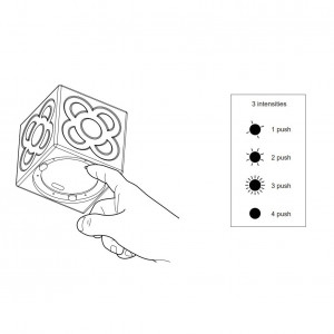 Faro - Outdoor - Portable - Lampanot LED PO - Cubo luminoso portatile