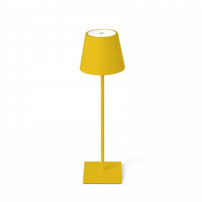 Faro - Outdoor - Portable - Toc TE LED - Lampada touch da tavolo portatile con presa USB - Giallo -  - Bianco caldo - 3000 K - Diffusa