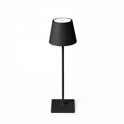 Faro - Outdoor - Portable - Toc TE LED - Lampada touch da tavolo portatile con presa USB - Nero -  - Bianco caldo - 3000 K - Diffusa