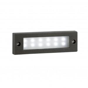 Faro - Outdoor - Sedna - Indi FA LED - Faretto segnapasso ad incasso per esterni a LED
