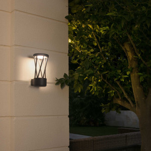 Faro - Outdoor - Shadow - Twist LED AP - Lampada da parete di design per l'esterno