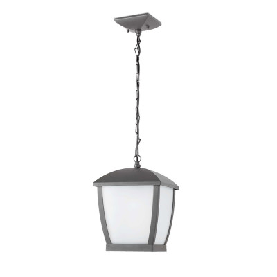 Faro - Outdoor - Wilma - Wilma SP L - Sospensione a lanterna per terrazzi grande - Grigio - LS-FR-75002