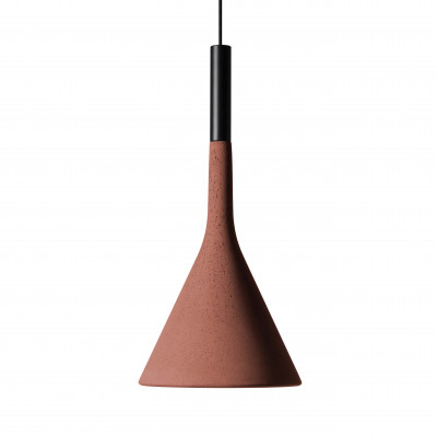 Foscarini - Aplomb - Lampadario moderno Aplomb  - Rosso mattone - LS-FO-195007L-3-64