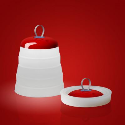 Foscarini - Cri Cri - Cri Cri TL TE OUT LED - Lampada portatile - Rosso - LS-FO-286001-63 - Super Caldo - 2700 K - Diffusa