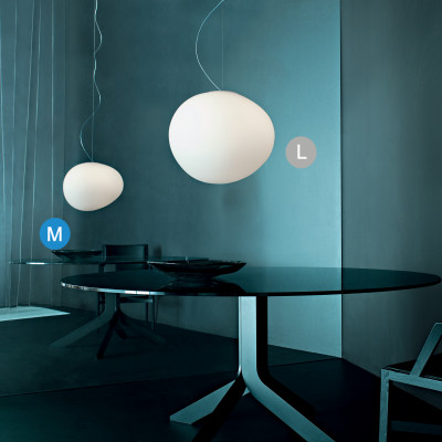 Foscarini - Gregg - Gregg SP M LED - Lampadario di design - Bianco - LS-FO-168007L-10 - Super Caldo - 2700 K - Diffusa