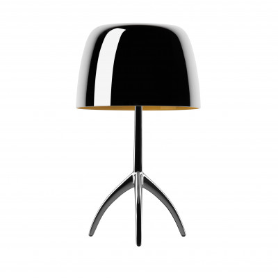 Foscarini - Lumiere - Lumiere 25th TL S - Lampada da tavolo S - Cromo nero - LS-FO-0260112R2-30D