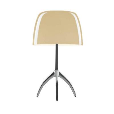 Foscarini - Lumiere - Lumiere TL S - Lampada da tavolo - Alluminio / bianco caldo - LS-FO-0260012R2-12