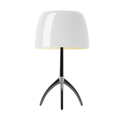 Foscarini - Lumiere - Lumiere TL S - Lampada da tavolo  con dimmer - Alluminio/bianco - LS-FO-0260012R2-11D