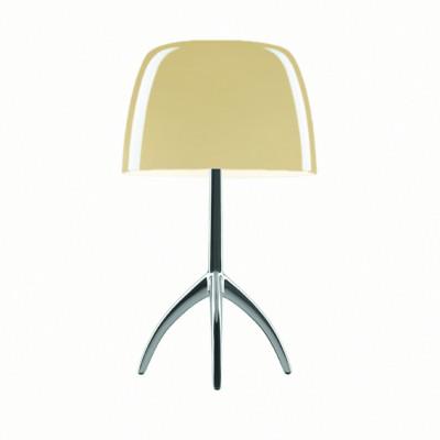 Foscarini - Lumiere - Lumiere TL S - Lampada da tavolo  con dimmer - Alluminio / bianco caldo - LS-FO-0260012R2-12D