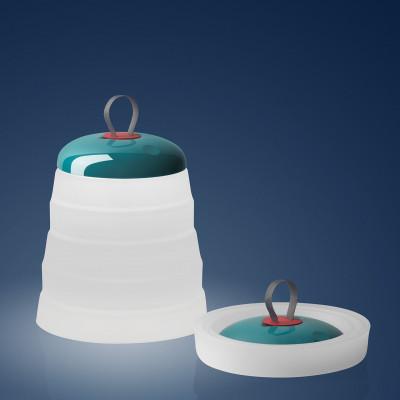 Foscarini - Playful - Cri Cri TL TE OUT LED - Lampada portatile - Verde - LS-FO-286001-40 - Super Caldo - 2700 K - Diffusa