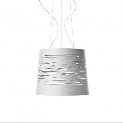 Foscarini - Tress - Tress Grande SP - Lampada a sospensione grande - Bianco - LS-FO-182007-10