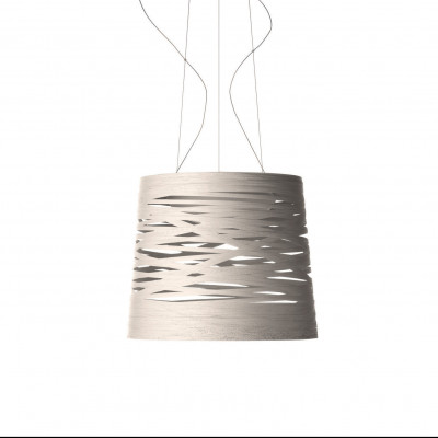 Foscarini - Tress - Tress Grande SP - Lampada a sospensione grande - Greige  - LS-FO-182007-25