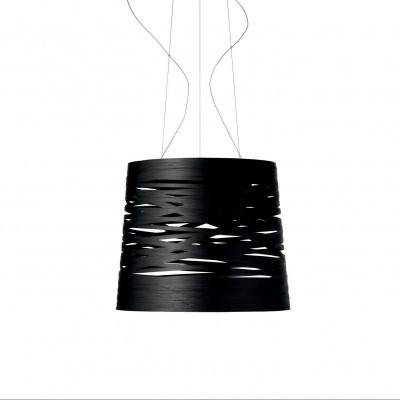 Foscarini - Tress - Tress Grande SP - Lampada a sospensione grande - Nero - LS-FO-182007-20