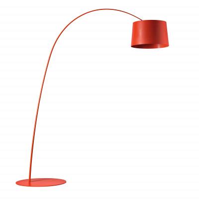 Foscarini - Twiggy - Lampada da terra LED   - Cremisi  - LS-FO-159003L-67