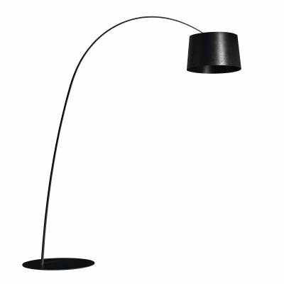 Foscarini - Twiggy - Lampada da terra LED - Nero - LS-FO-159003L-20 - Bianco caldo - 3000 K - Diffusa