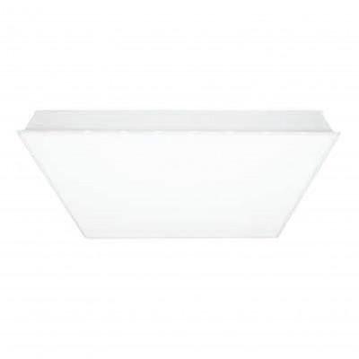 i-LèD - Ceiling - Edith - Faretto da incasso a soffitto Edith-M Full-Light -190-250 V - topLED 30 W 900 mA - CRI 95 - Bianco goffrato RAL 9003  - 91306 - Bianco caldo - 3000 K - Diffusa