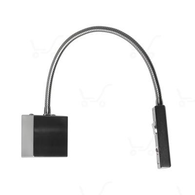 i-LèD - Movable - Sken - Sken-2Q - 190-250 V - powerLED 2 W 630 mA  - Nichel spazzolato - 87128 - Bianco Freddo - 5000 K - 50°
