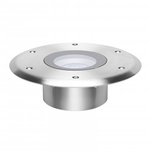 i-LèD - Outlet - Faretto calpestabile ADMIRAL 9LED 2W FISSO INOX IP68