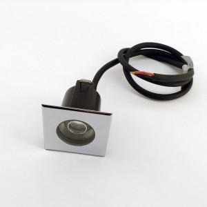 i-LèD - Outlet - OTIX 4 QUADRO 1LED 2W S/ALIM.CROMO