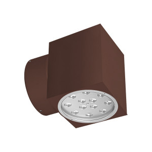 i-LèD - Wall - Elix - Lampada a parete Elix-Q - 180-300 V - powerLED 12 W 630 mA square