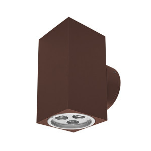 i-LèD - Wall - Elix - Lampada a parete Elix-Q - 180-300 V - powerLED 6 W 630 mA
