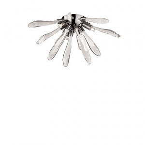Ideal Lux - Art - Corallo AP3 - Applique a corallo in vetro