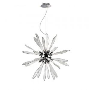 Ideal Lux - Art - Corallo SP8 - Lampadario in vetro a forma di corallo