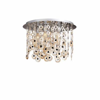 Ideal Lux - Art - PAVONE PL5 - Lampada da soffitto - Cromo - LS-IL-017013