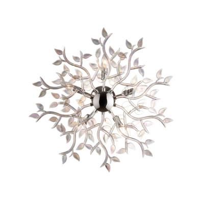 Ideal Lux - Art - SPRING PL5 - Applique / Plafoniera - Cromo/Iride - LS-IL-031064