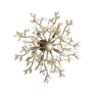 Ideal Lux - Art - SPRING PL5 - Applique / Plafoniera - Fumé - LS-IL-123073