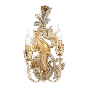 Ideal Lux - Baroque - Carmen AP2 - Lampada da parete effetto antico