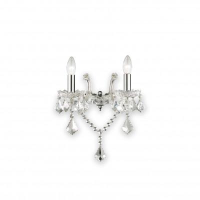 Ideal Lux - Baroque - FLORIAN AP2 - Applique - Cromo - LS-IL-035642