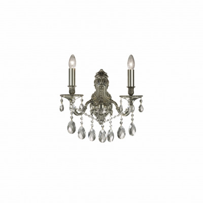 Ideal Lux - Baroque - GIOCONDA AP2 - Applique - Argento - LS-IL-044910