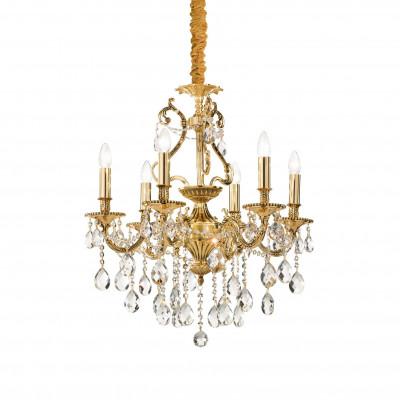 Ideal Lux - Baroque - GIOCONDA SP6 - Lampada a sospensione - Oro - LS-IL-060507