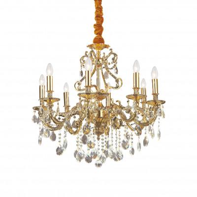 Ideal Lux - Baroque - GIOCONDA SP8 - Lampada a sospensione - Oro - LS-IL-060514