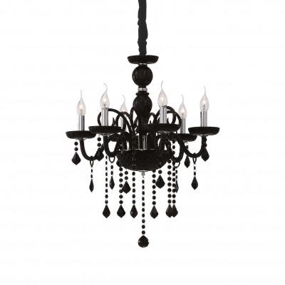Ideal Lux - Baroque - GIUDECCA SP6 - Lampada a sospensione - Nero - LS-IL-032504