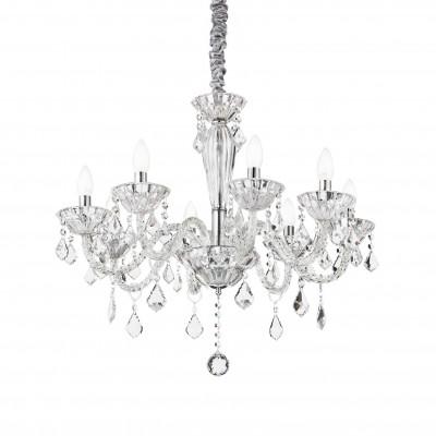Ideal Lux - Baroque - TIEPOLO SP8 - Lampada a sospensione - Trasparente - LS-IL-034720