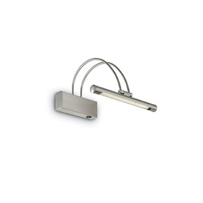 Ideal Lux - Bathroom - BOW AP36 - Applique - Nichel satinato - LS-IL-005379
